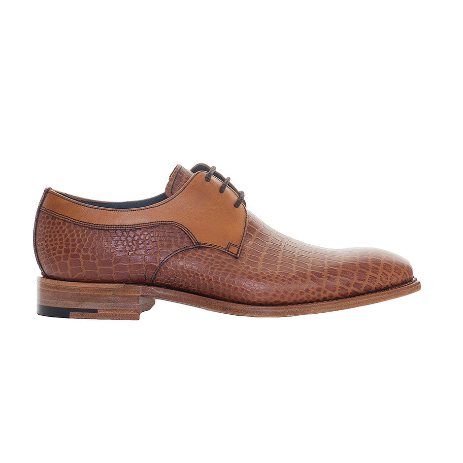 Benedict Derby Shoes for Men in Tan