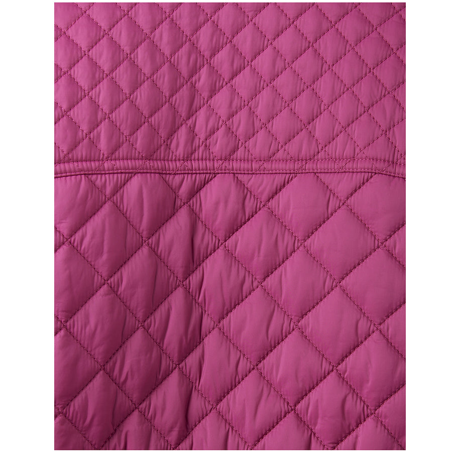 Newdale Quilted Jacket for Women in Ruby