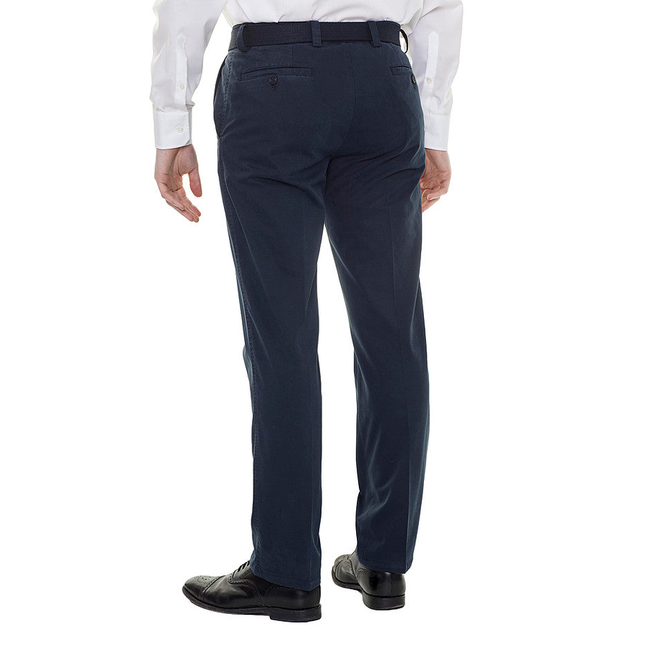 Longford Chinos for Men in Navy