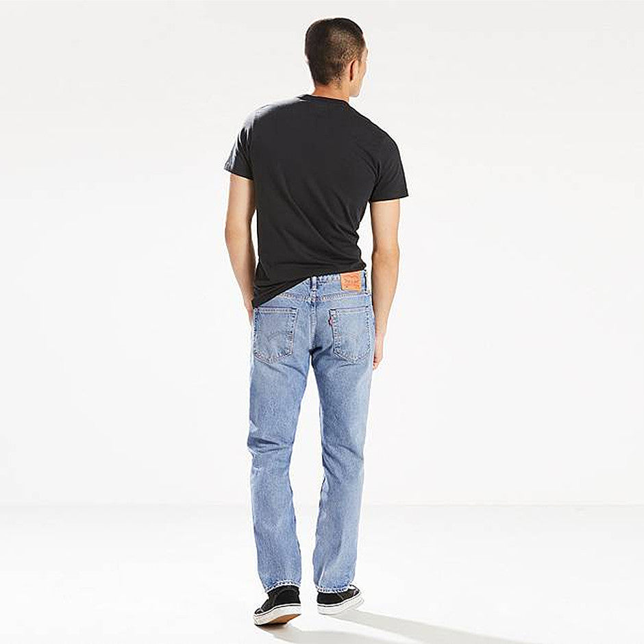 502 Regular Taper Fit Warp Stretch Jeans for Men in Swaggu