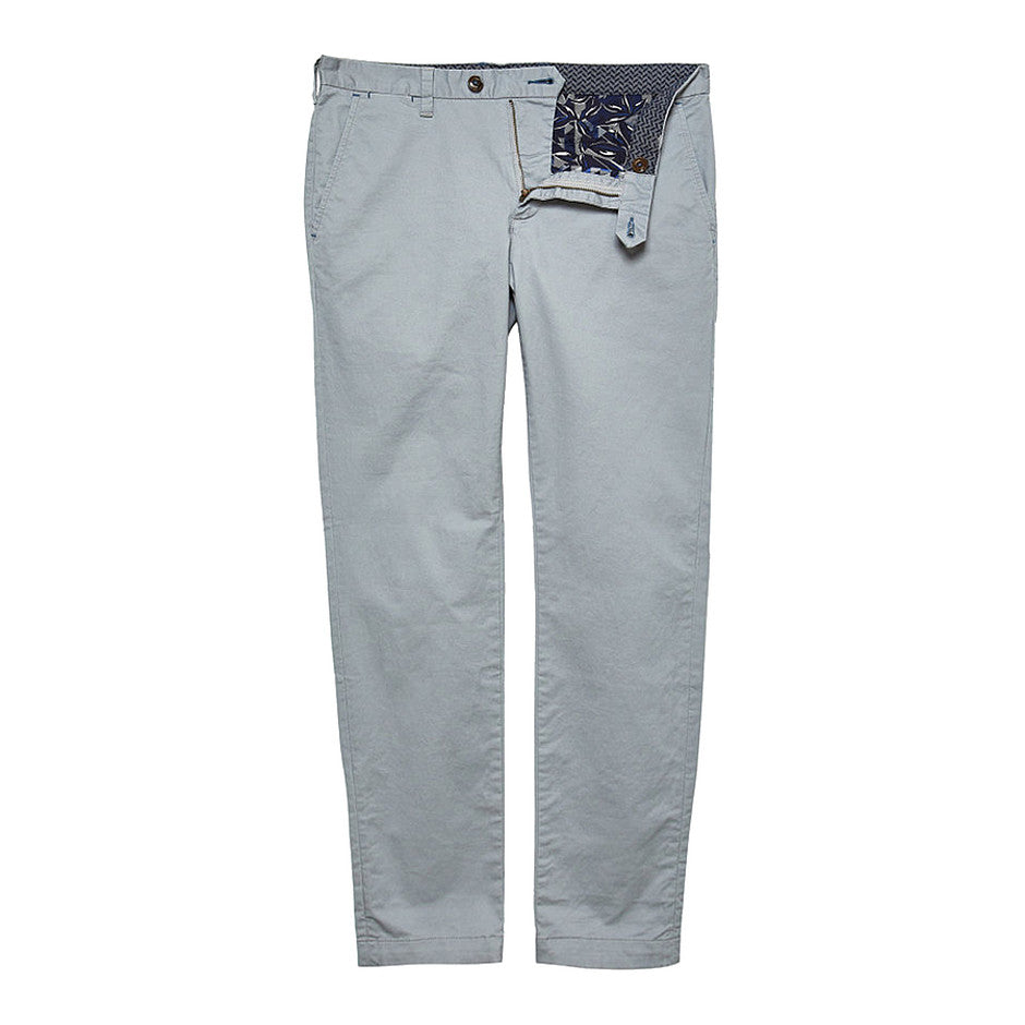 Procor Slim Fit Chinos for Men in Grey