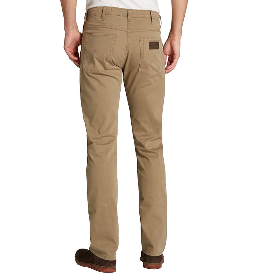 Arizona Stretch Cotton Jeans for Men in Sarfari Khaki