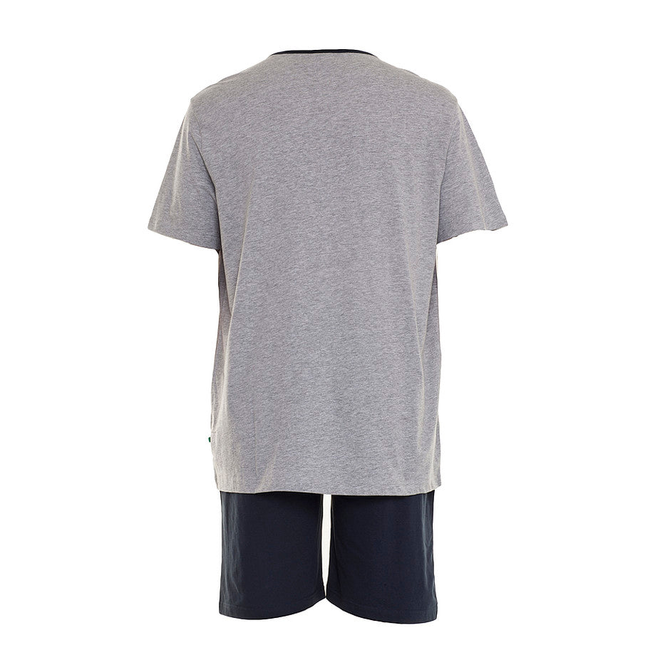 D555 Shortie PJs for Men in Grey