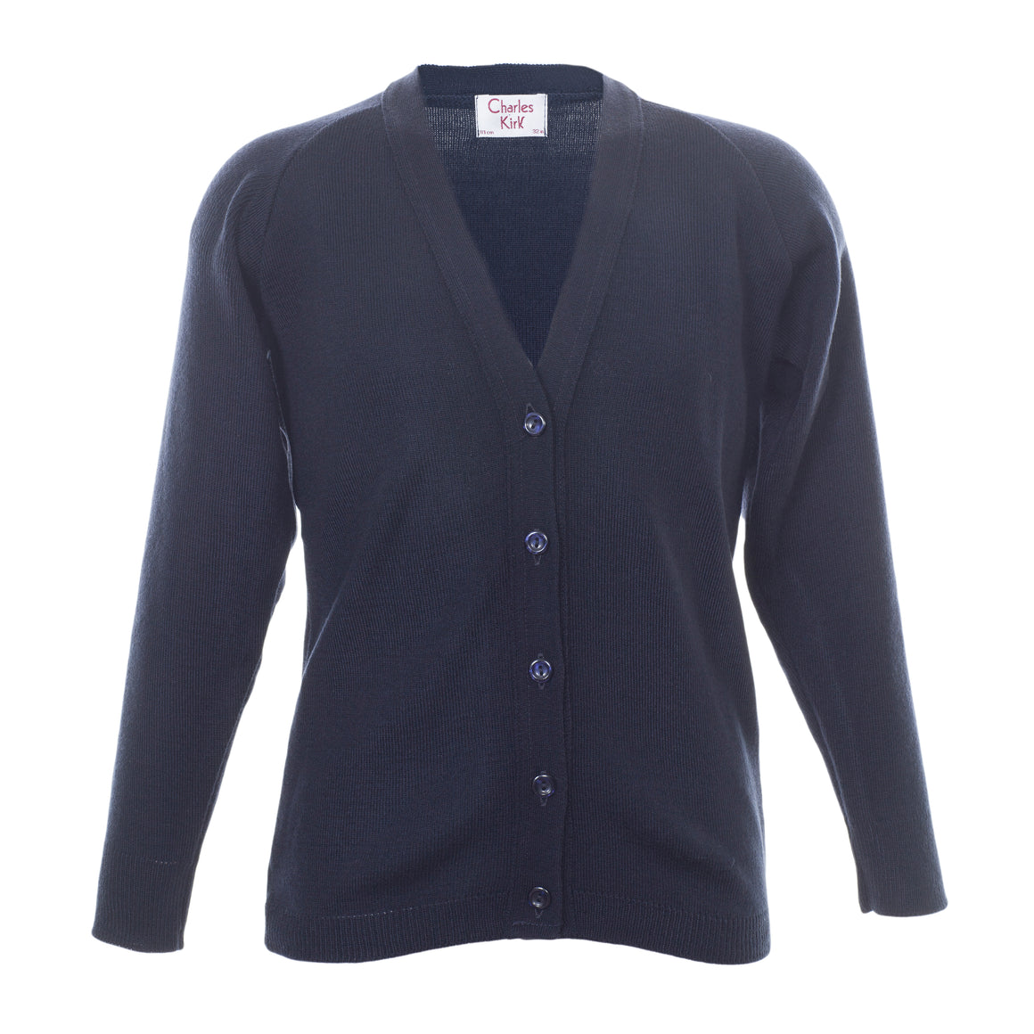 School Cardigan in Navy