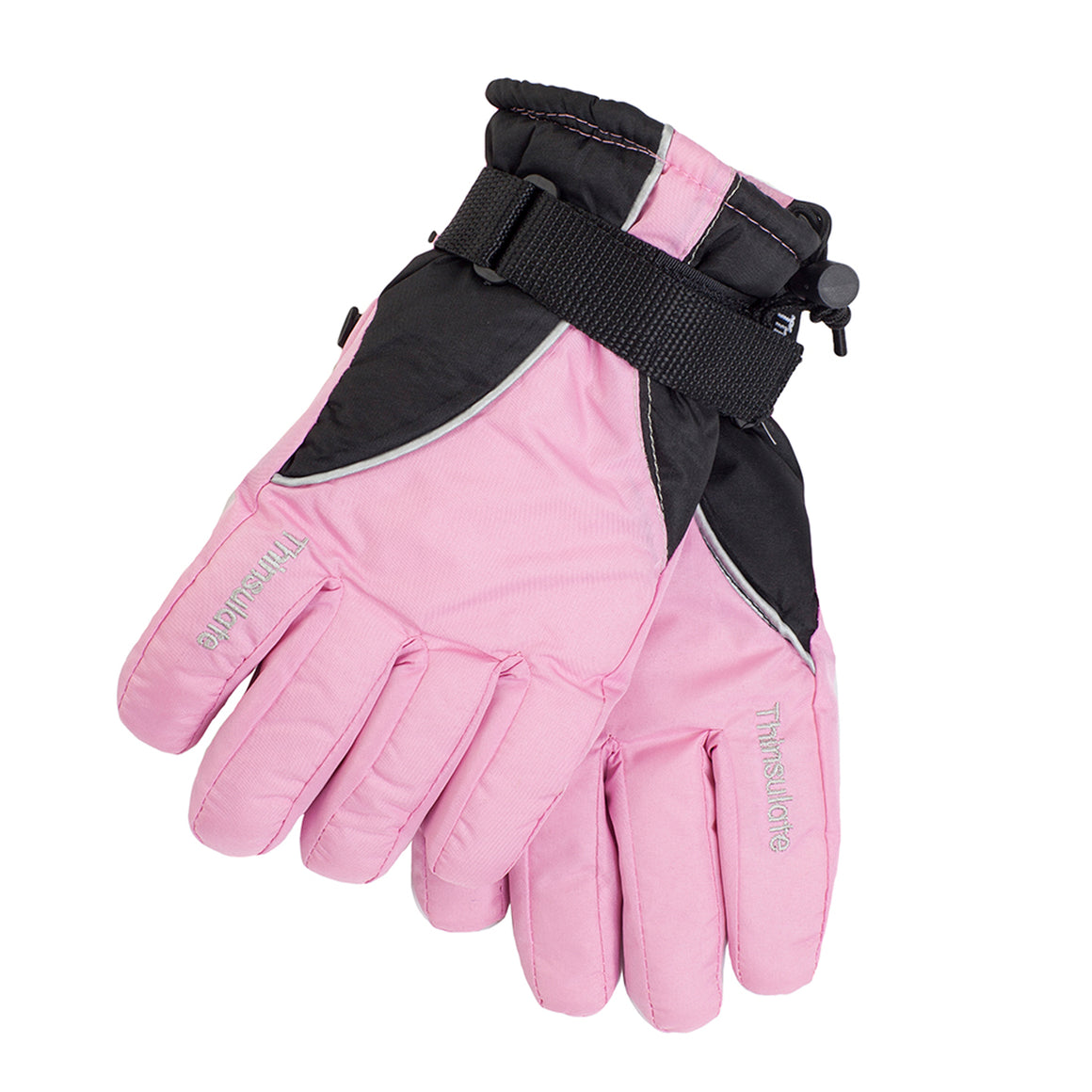 Ski Gloves in Pink