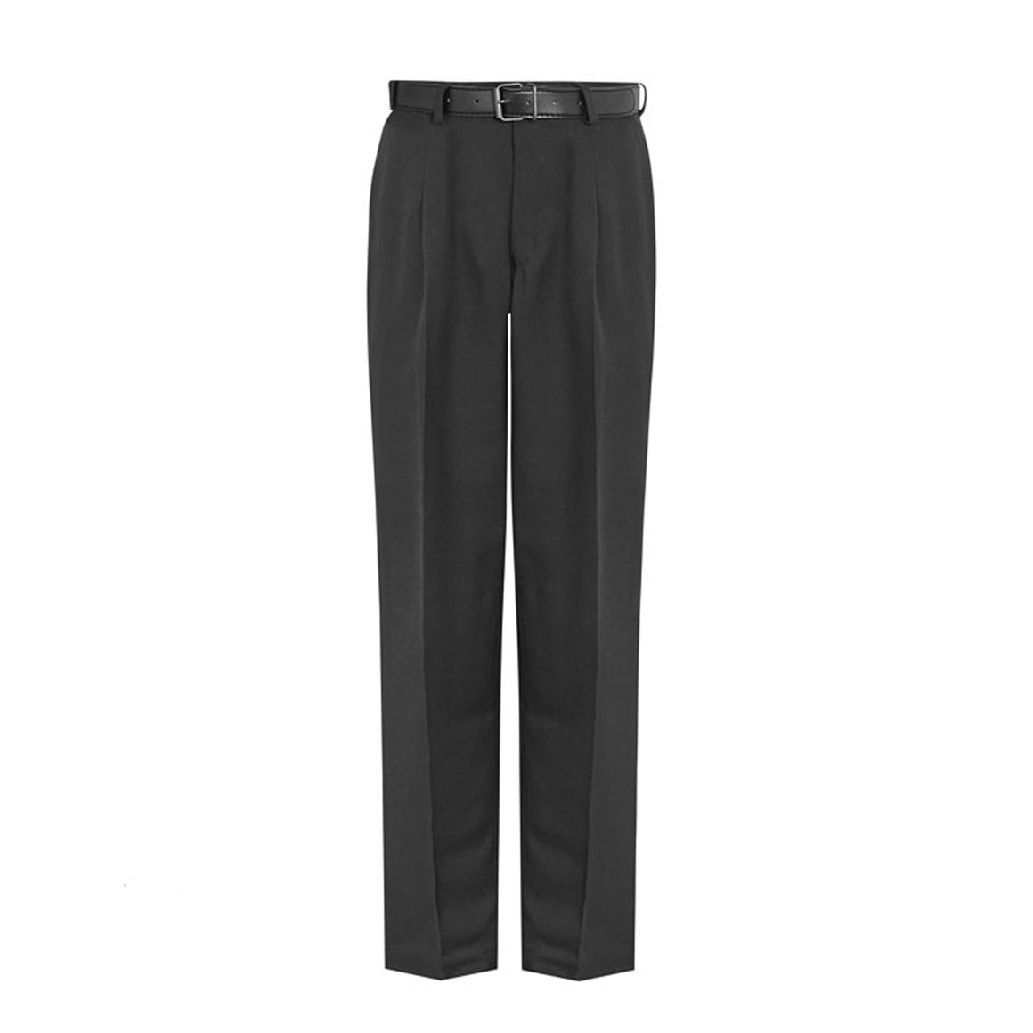 Senior Boys Pleated Trousers in Black