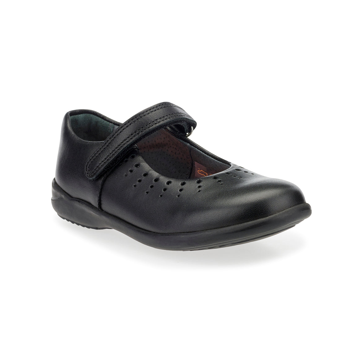 Mary Jane School Shoes for Girls in Black