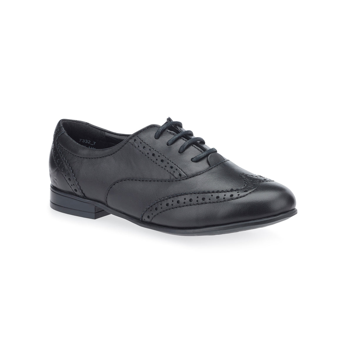 Matilda School Shoes for Girls in Black