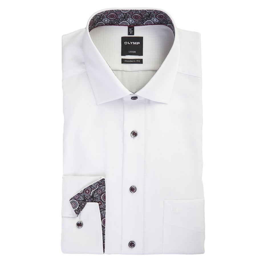 Luxor Formal Shirt for Men in White