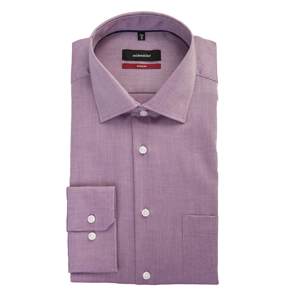 Modern Fit Formal Shirt for Men in Pink