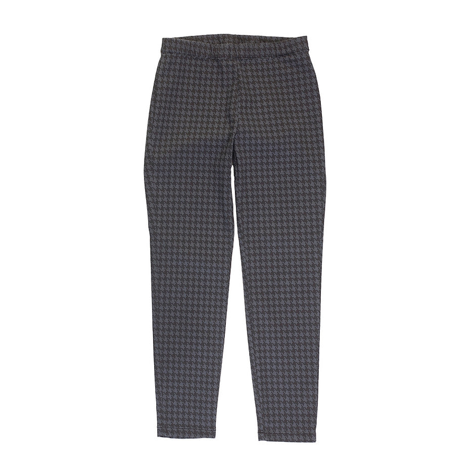 Pandy Dogtooth Trousers for Women in Black and Grey