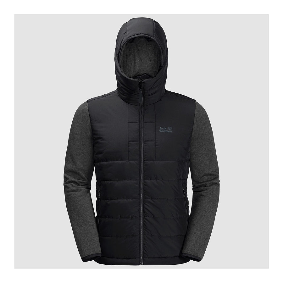 Sky Guard Jacket Hybrid for Men in Black