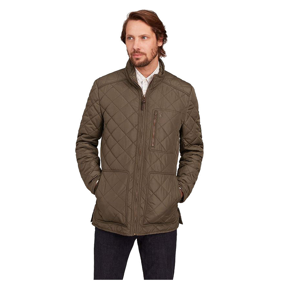Derwent Quilted Jacket for Men in Country Brown
