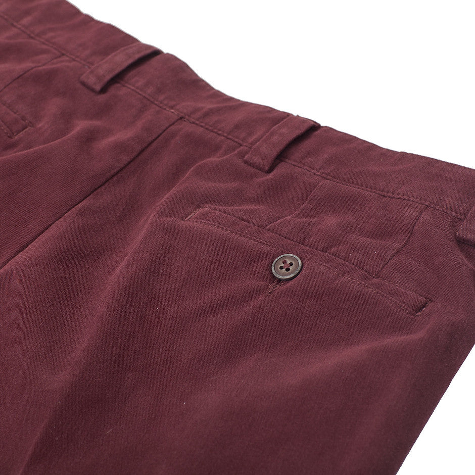 Longford Chinos for Men in Deep Red