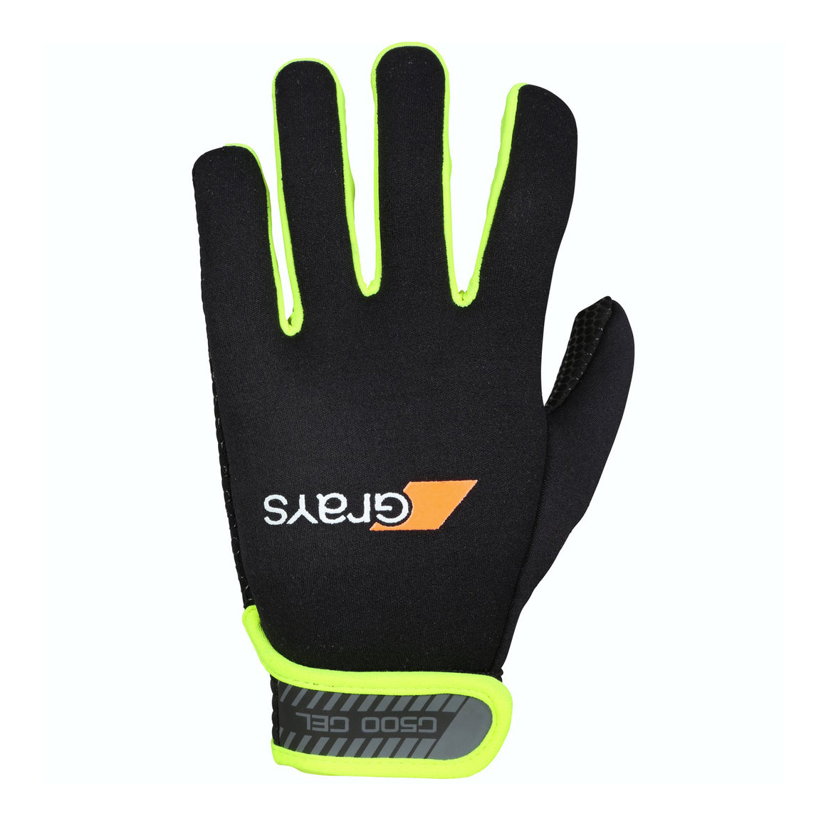 G500 Gel Gloves in Black & Lemon