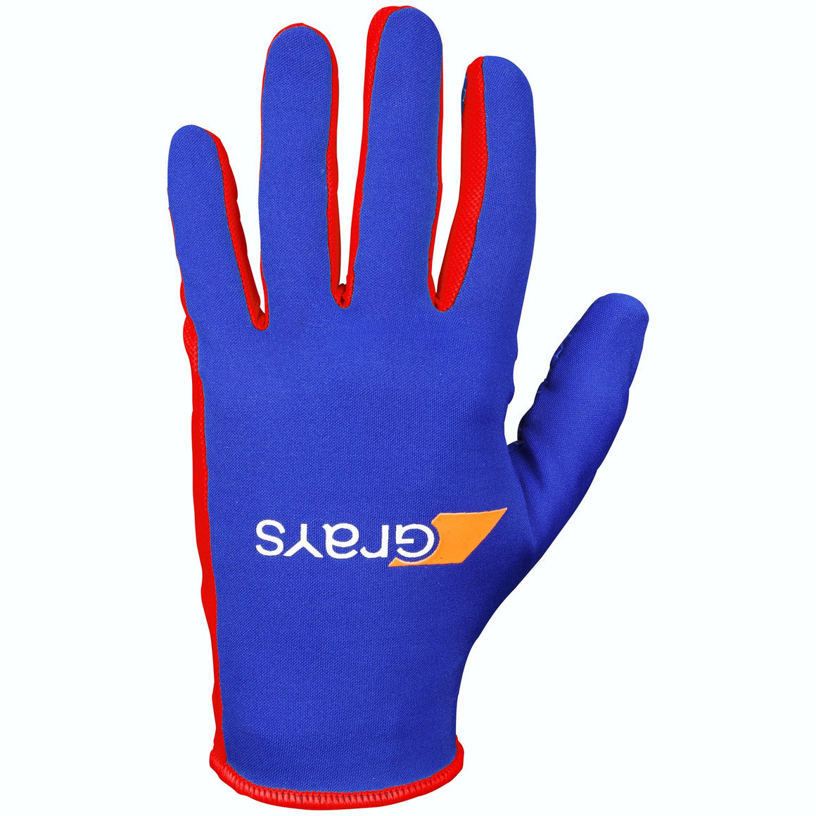 Skinful Gloves in Royal & Red