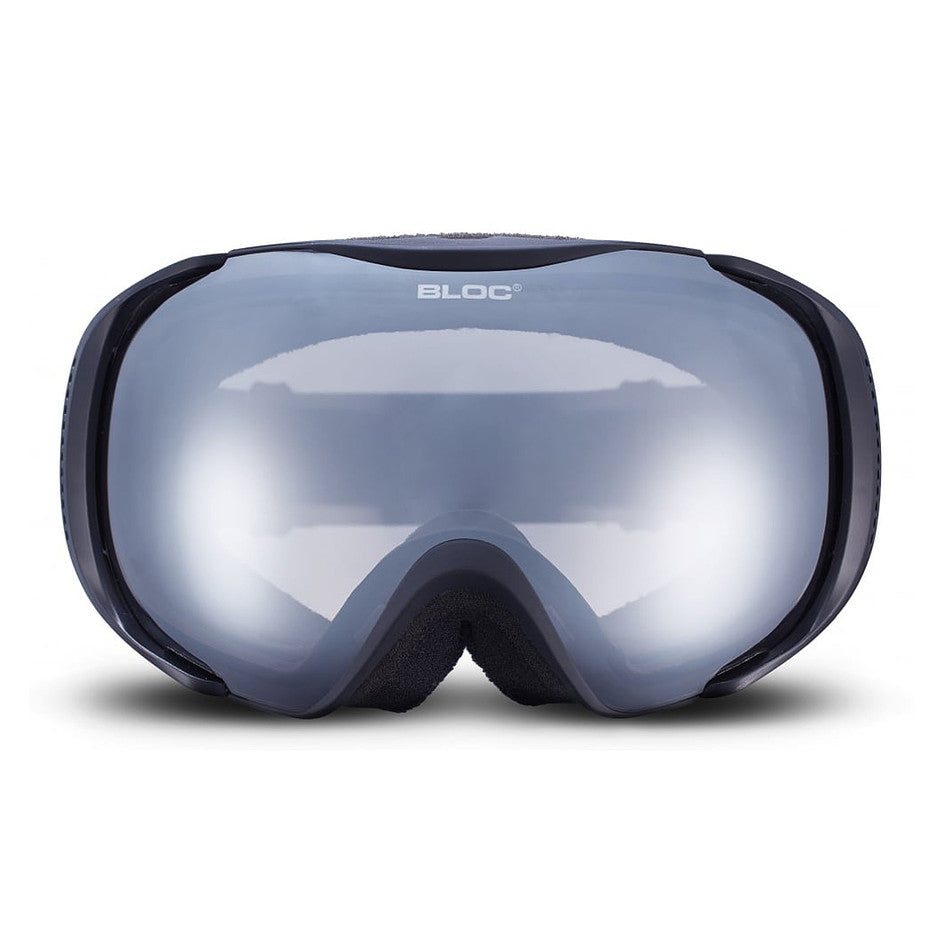 Mask MK14 Goggles in Matt Black Photochromic Silver Mirror