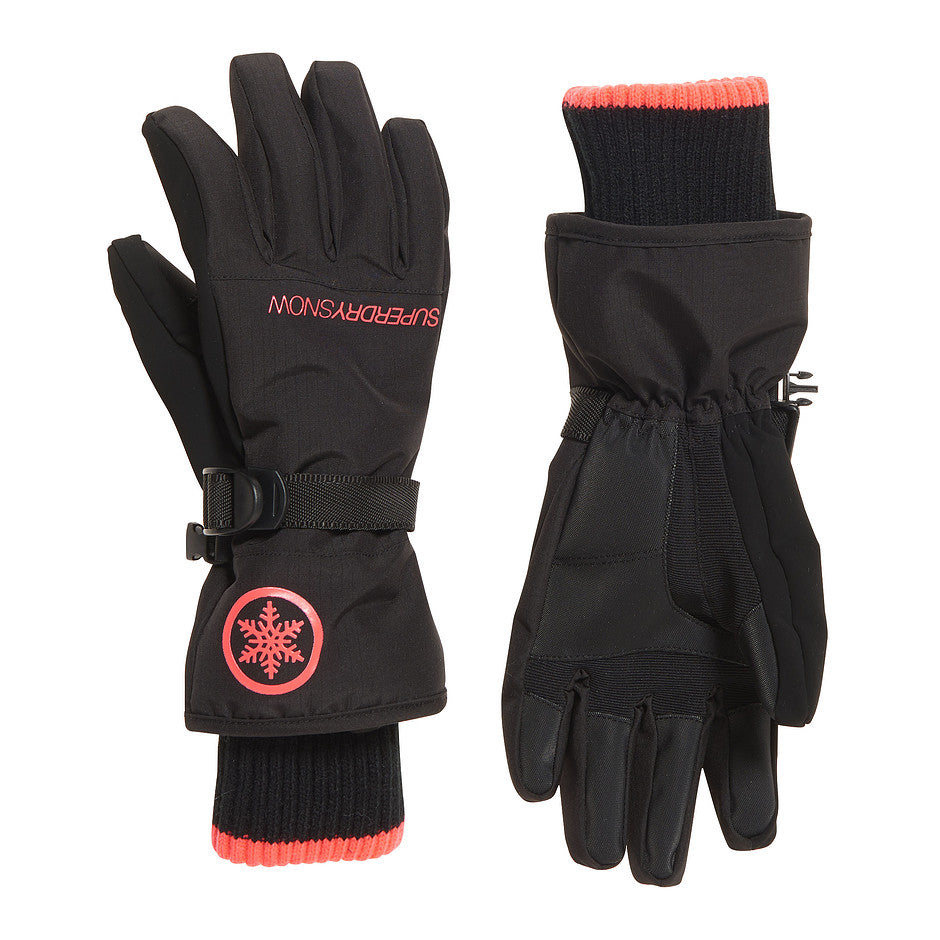 Ultimate Snow Service Glove for Women in Black