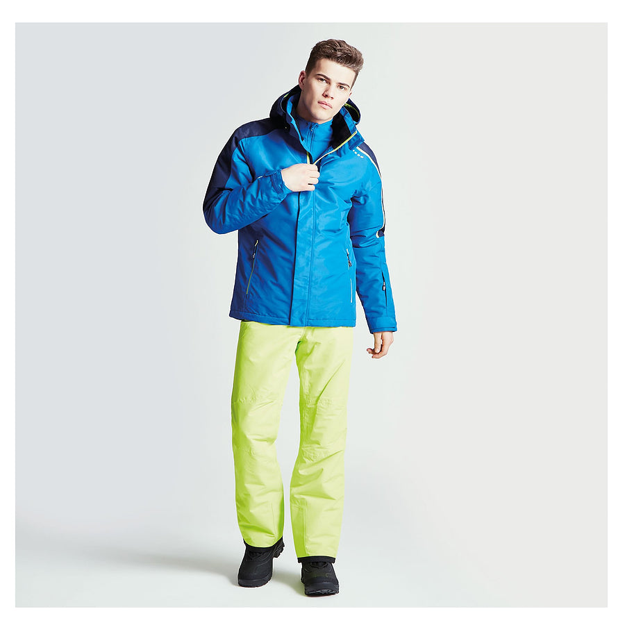 Aligned WP Ski Jacket for Men in Nautical Blue/ Outerspace Blue