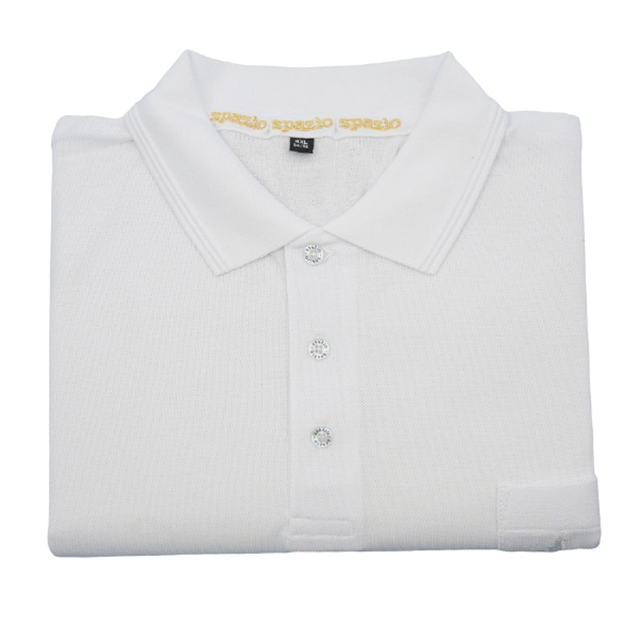 Polo Shirt in White