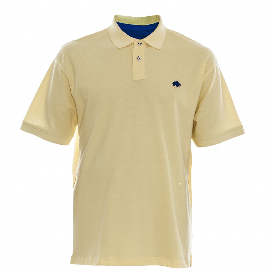 Big & Tall New Signature Polo Shirt for Men in Lemon