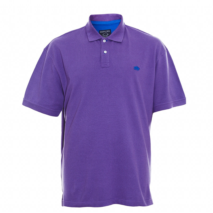 Big & Tall New Signature Polo Shirt for Men in Purple
