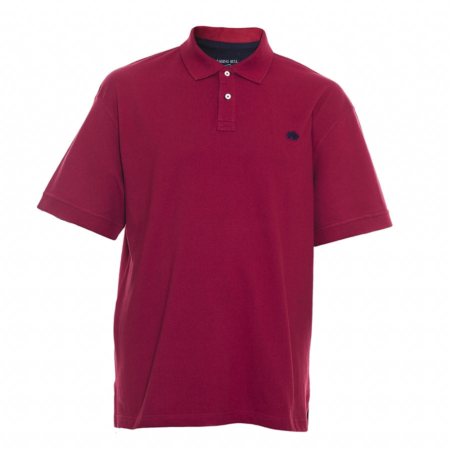 Big & Tall New Signature Polo Shirt for Men in Red-3XL-6XL