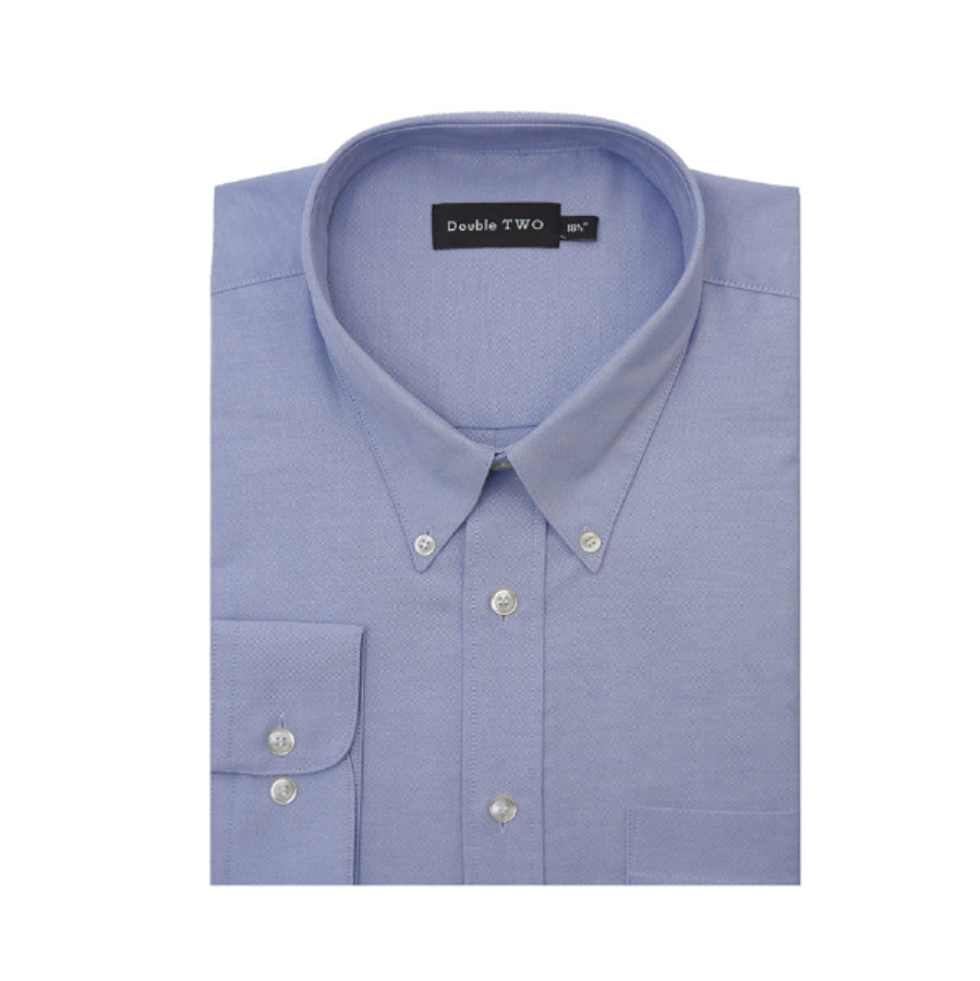 Standard Sleeve Oxford Shirt in Plus Sizes