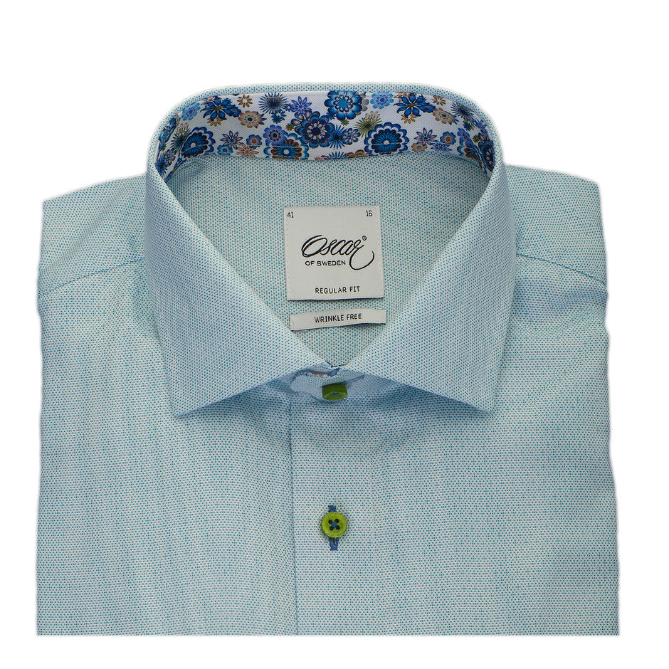 Formal Shirt for Men in Mint Green