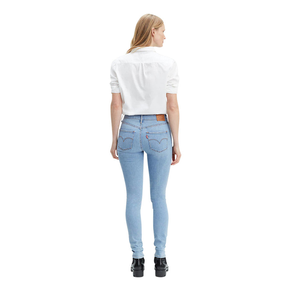 Shaping Skinny Jeans for Women in Blue