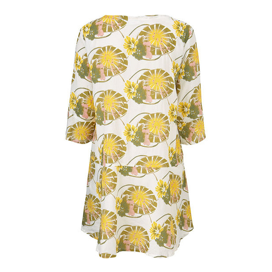 Lily Pad Galila Tunic for Women in Yellow
