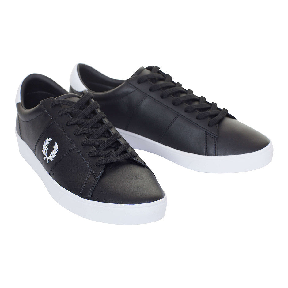 Spencer Leather Shoe for Men in Black