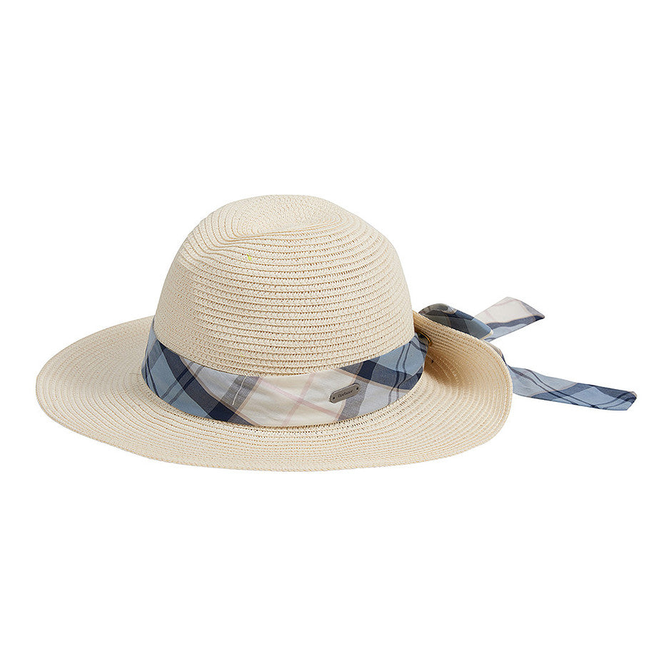 Lorne Tartan Fedora for Women in Ivy