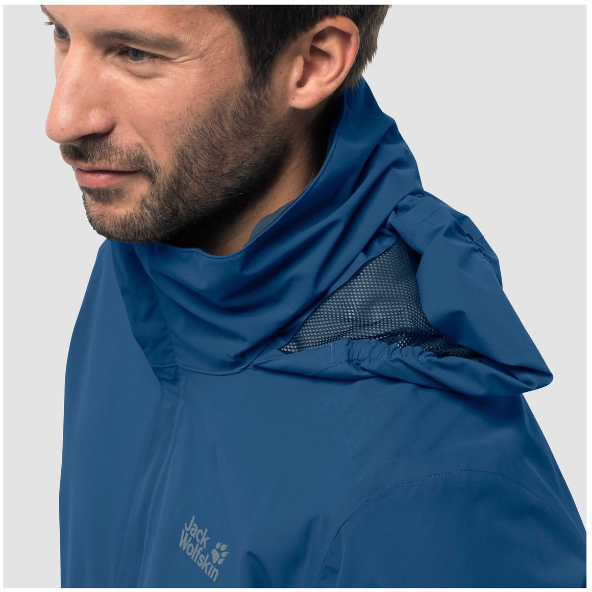 Stormy Point Hardshell Jacket for Men in Electric Blue