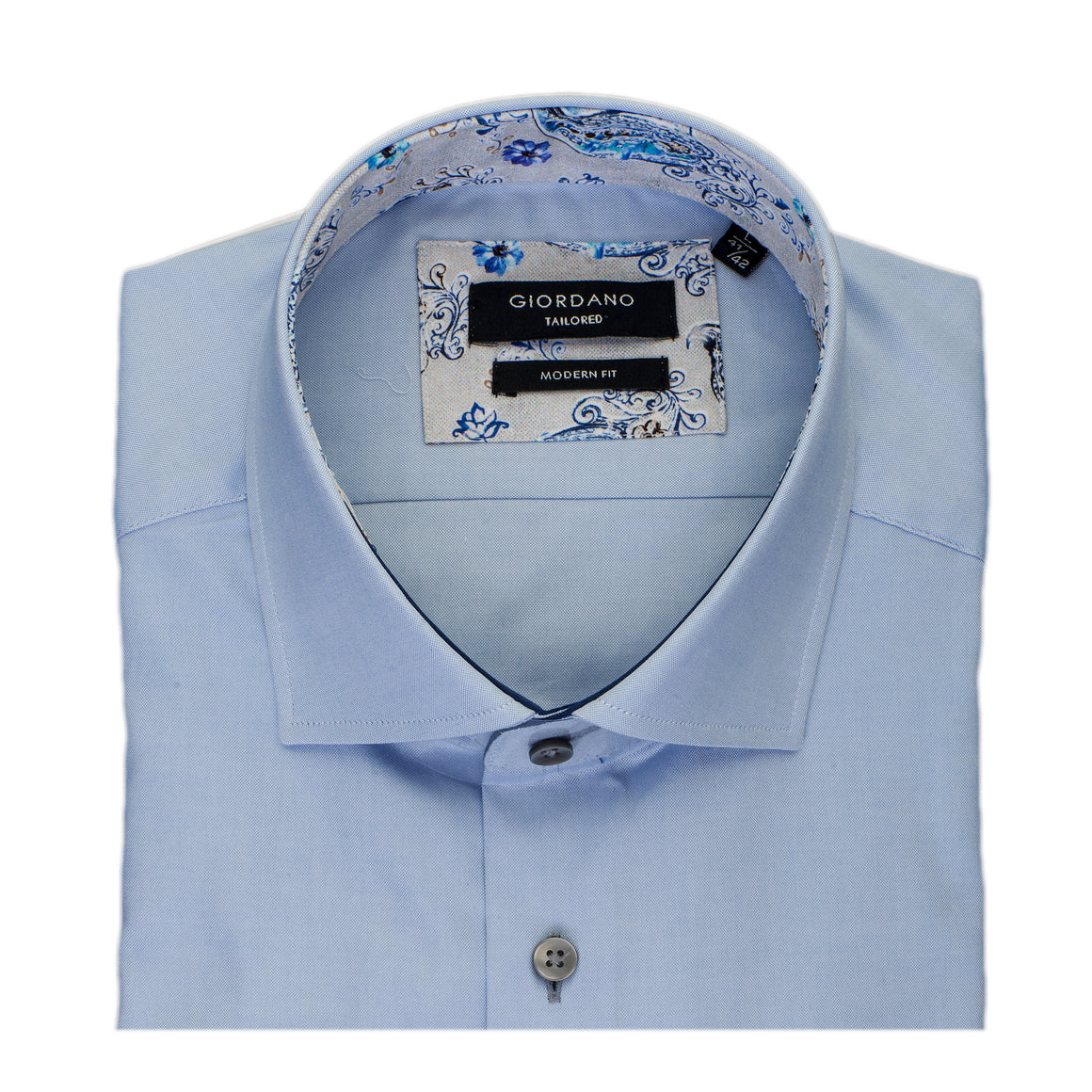Satin Feel Shirt for Men in Sky Blue