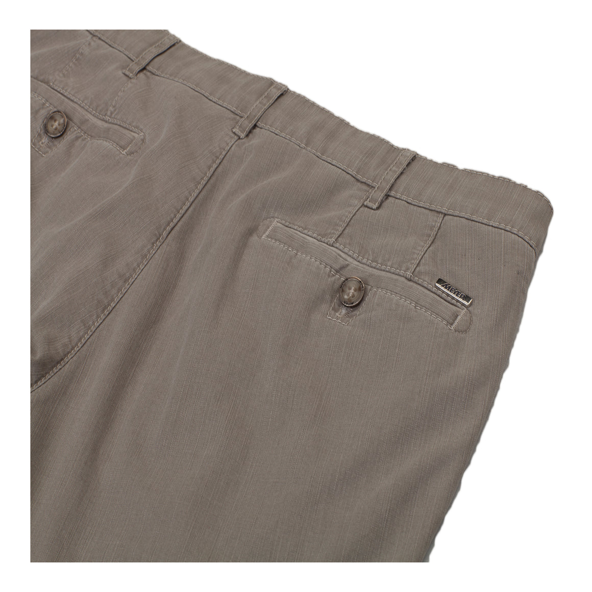 Roma Flamme Chinos for Men in Stone