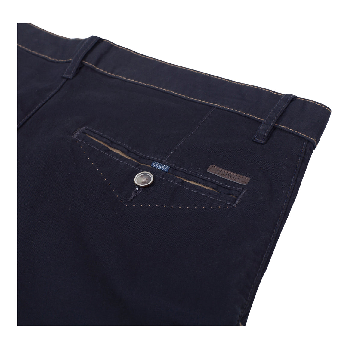 Tailored Shorts for Men in Navy