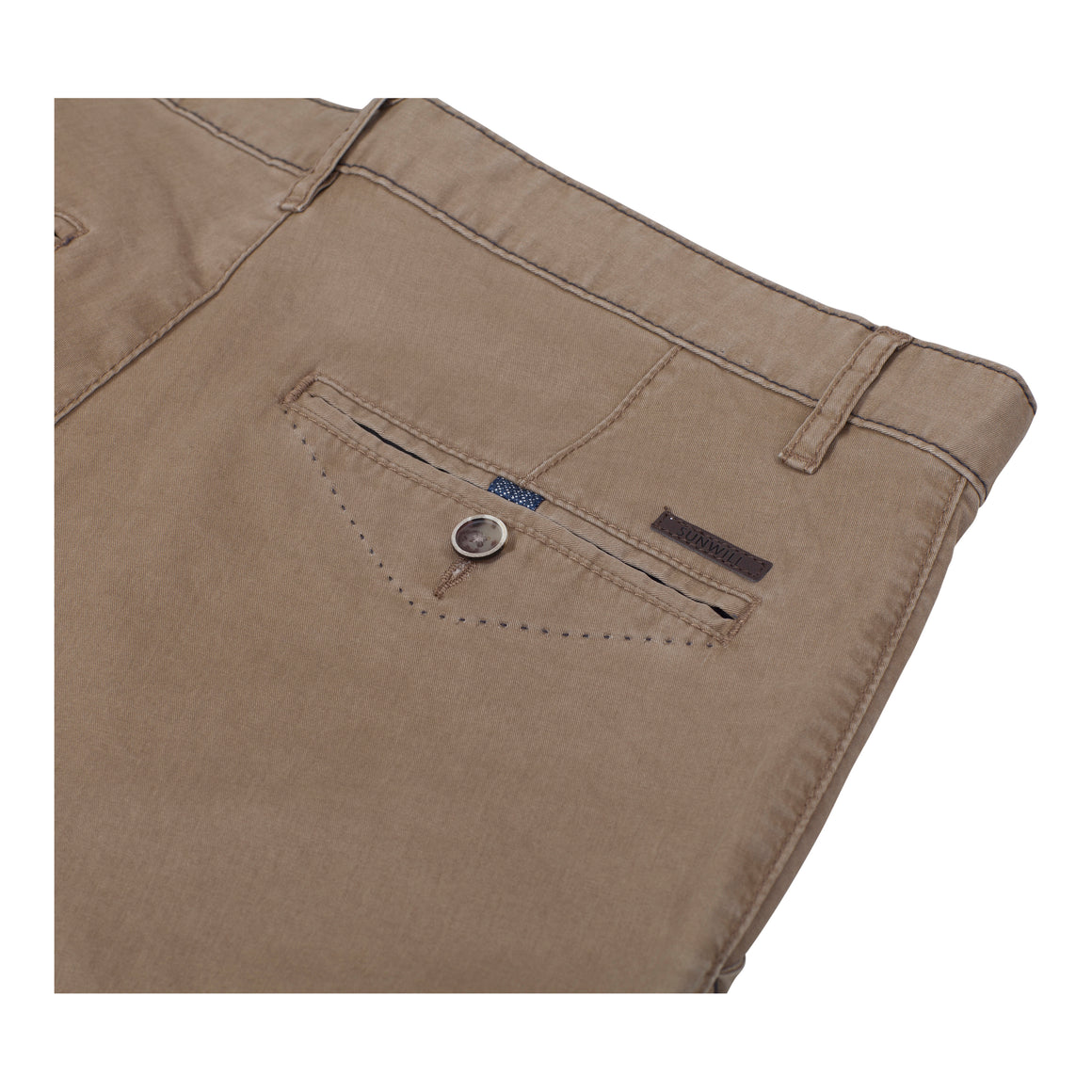 Tailored Shorts for Men in Stone