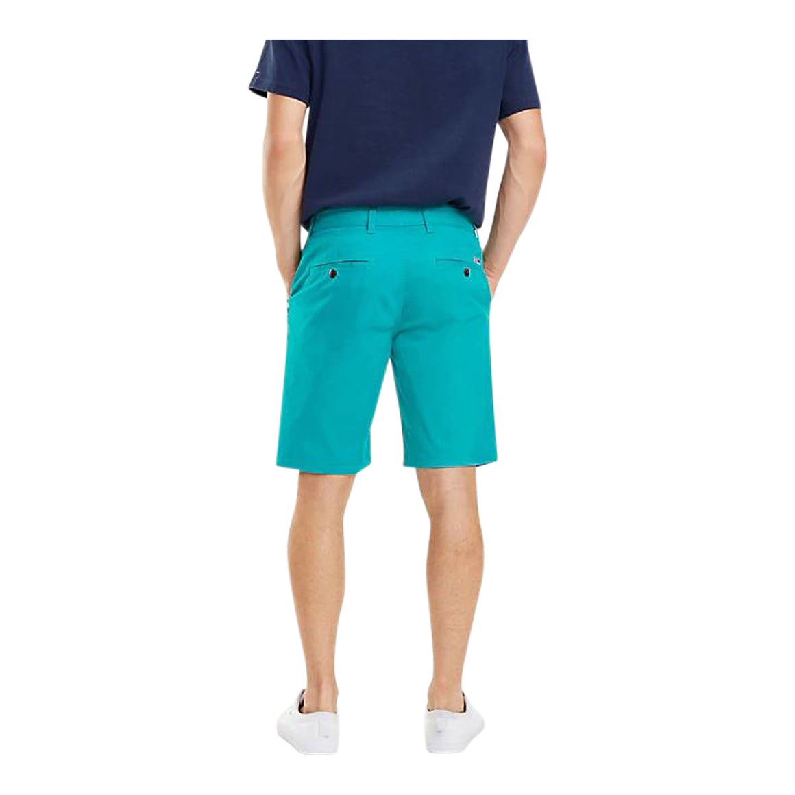 Chino Shorts for Men in Dynasty Green