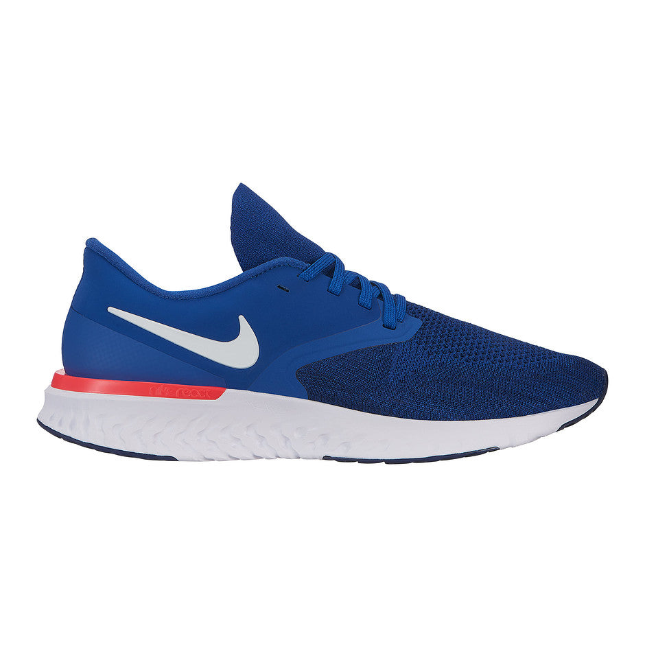 Odyssey React Flyknit 2 Running Shoe for Men in Blue/ White