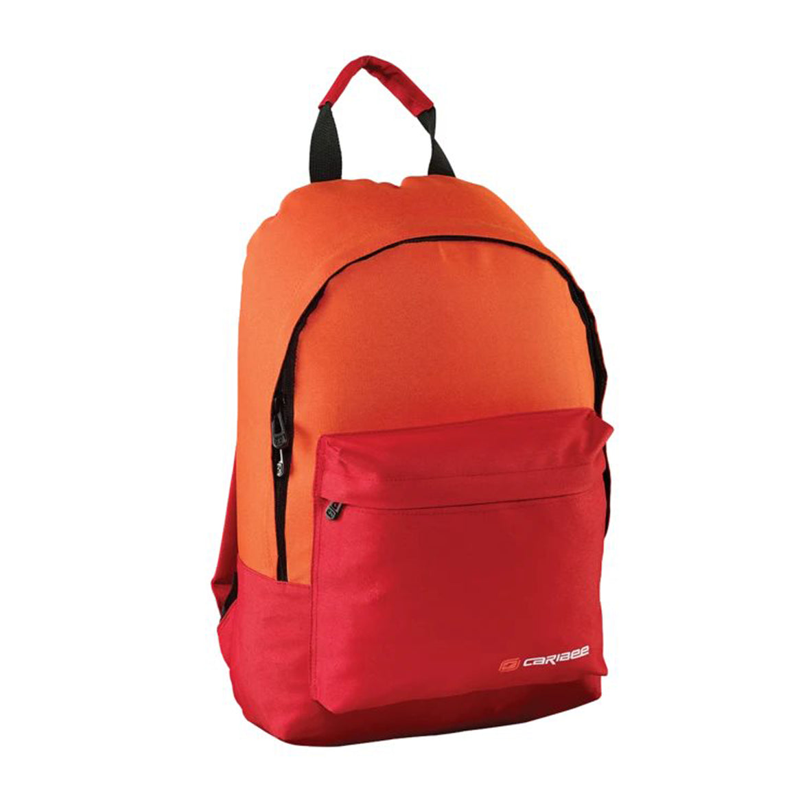Campus Backpack in Red & Orange
