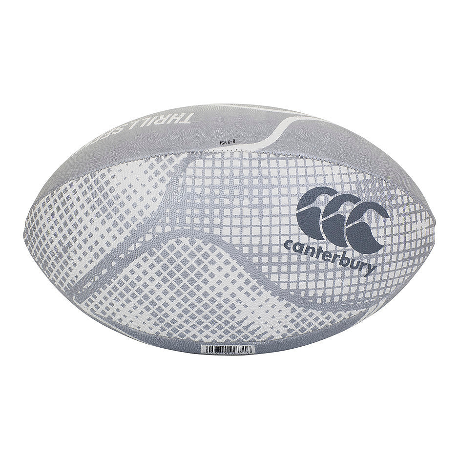 Thrillseeker Rugby Ball in Silver