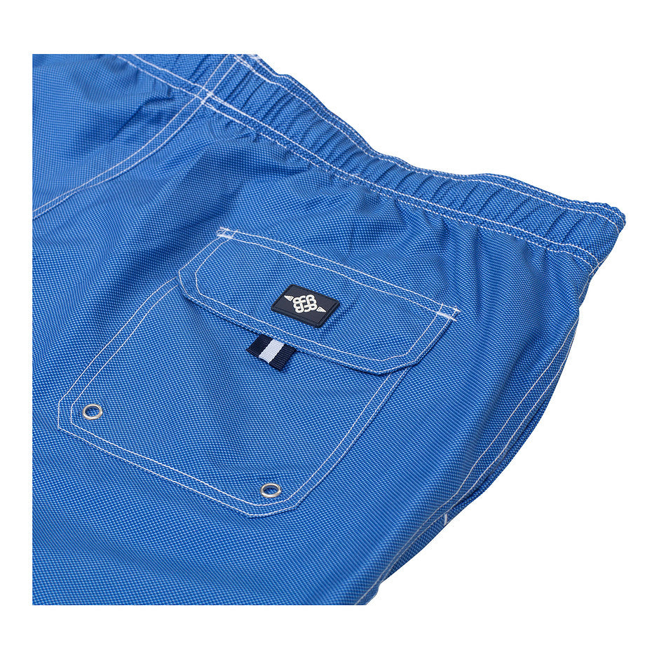 Plain Swim Shorts for Men in Blue