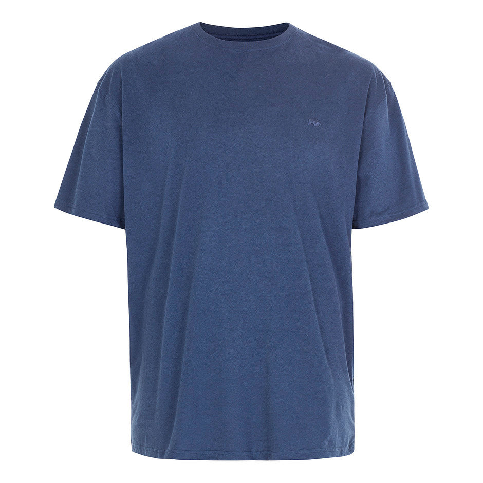 Plain T-Shirt for Men in Navy