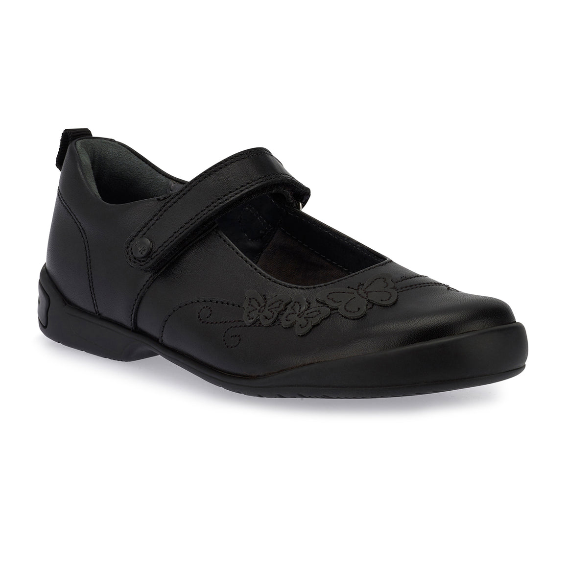 Pump School Shoes for Girls in Black