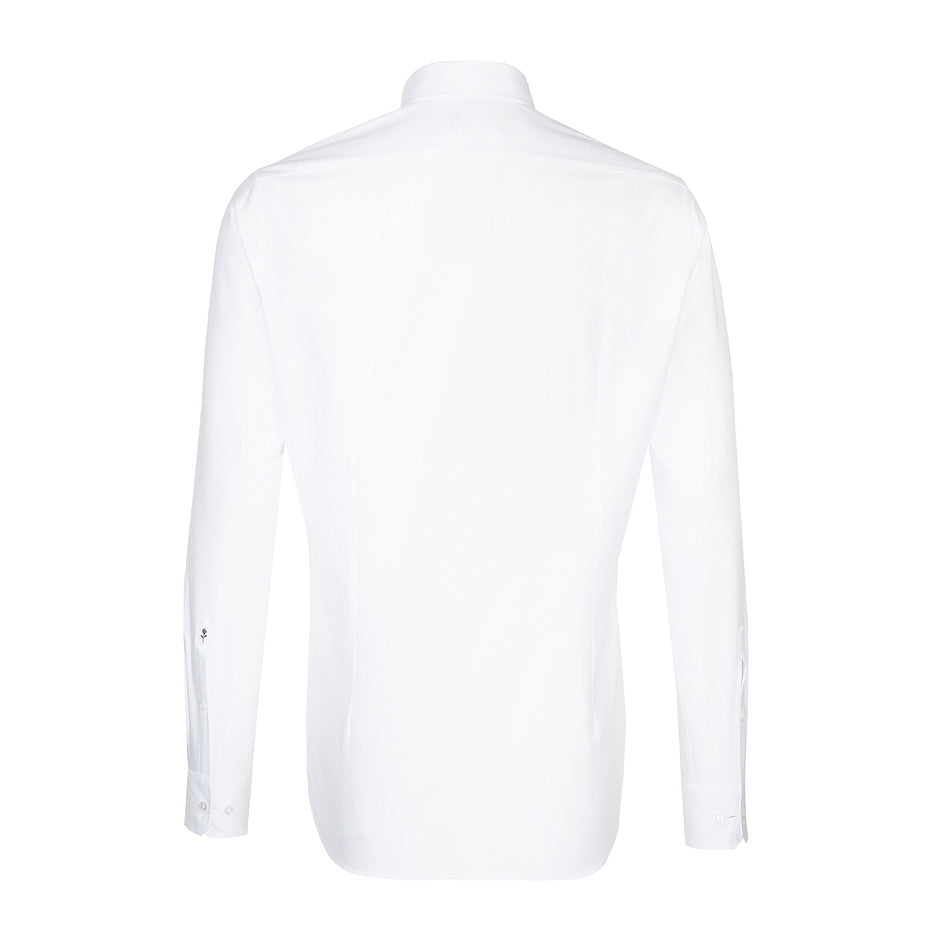 Tailored Fit Formal Shirt for Men in White