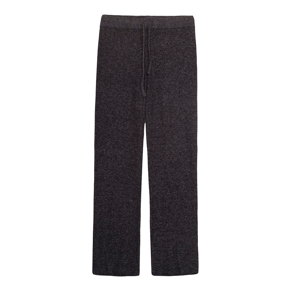 Tees Flared Pants for Women in Charcoal