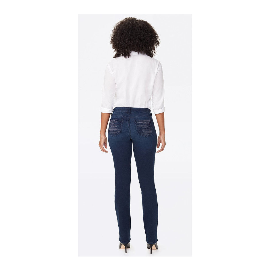 Marilyn Embellished Jean for Women in Mid Blue