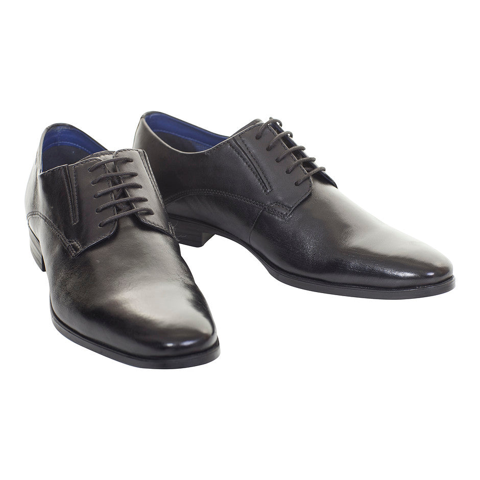 Casual Lace Up Shoe for Men in Black