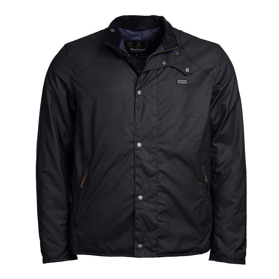 Ducal Waxed Cotton Jacket for Men in Navy
